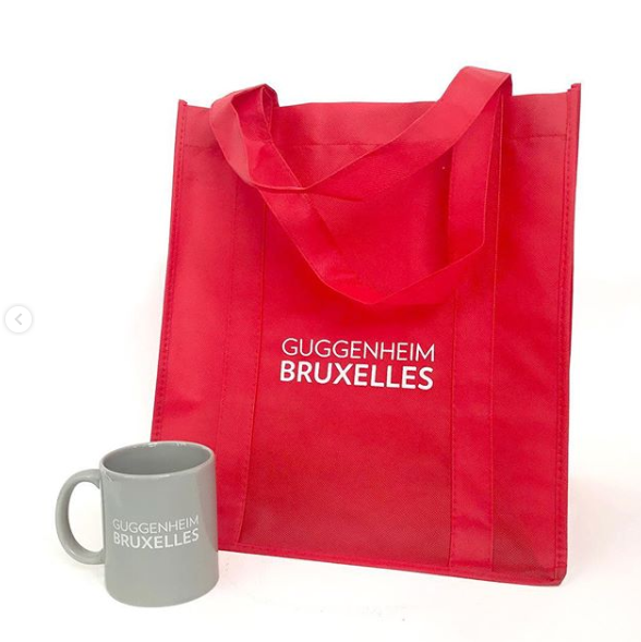 Guggenheim Bruxelles Mug with Tote Bag (COMBO!)