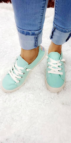 Turquoise Bliss Sneakers