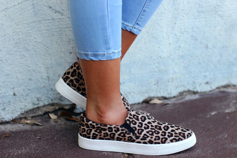 Been Spotted Leopard Tennis Shoes