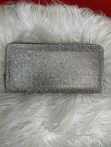 Silver Crystal Wallet