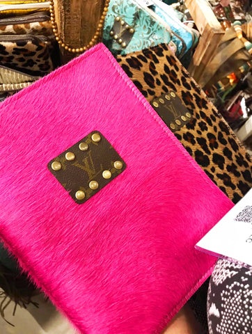 LV Pink Cowhide Journal