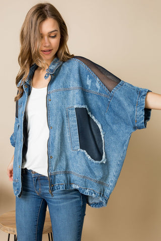 PATCH WORK JEAN JACKET