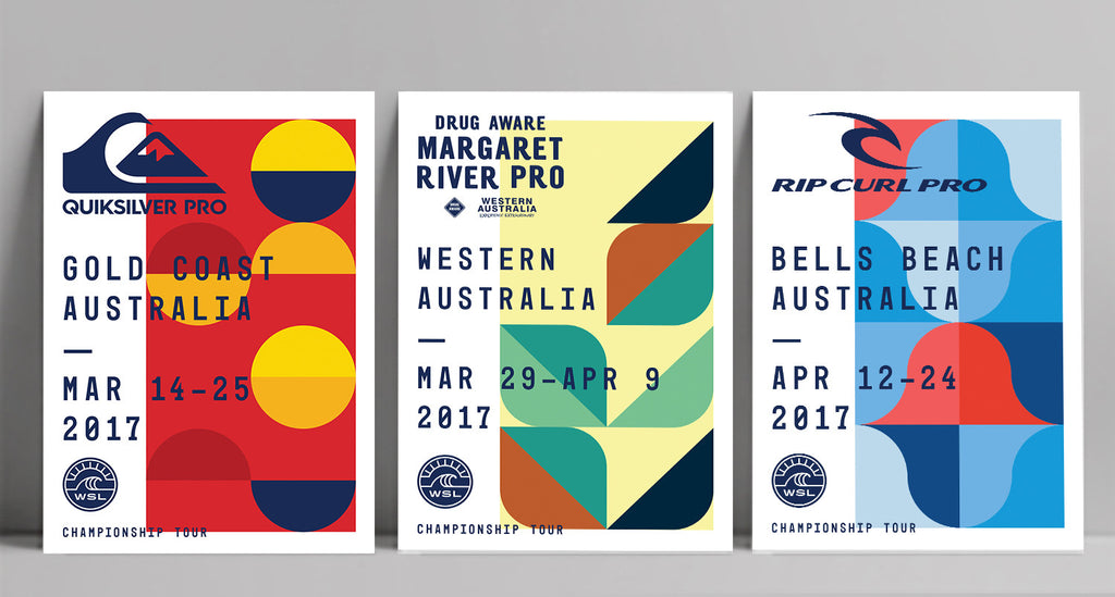 2017 Australia Event Collectors Poster Pack