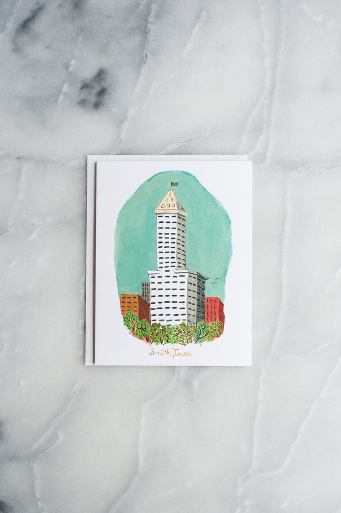 Smith Tower Card