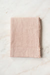 Stonewashed Linen Tablecloth - Blush