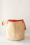 "The Market Tote 15"" Basket - Natural White"