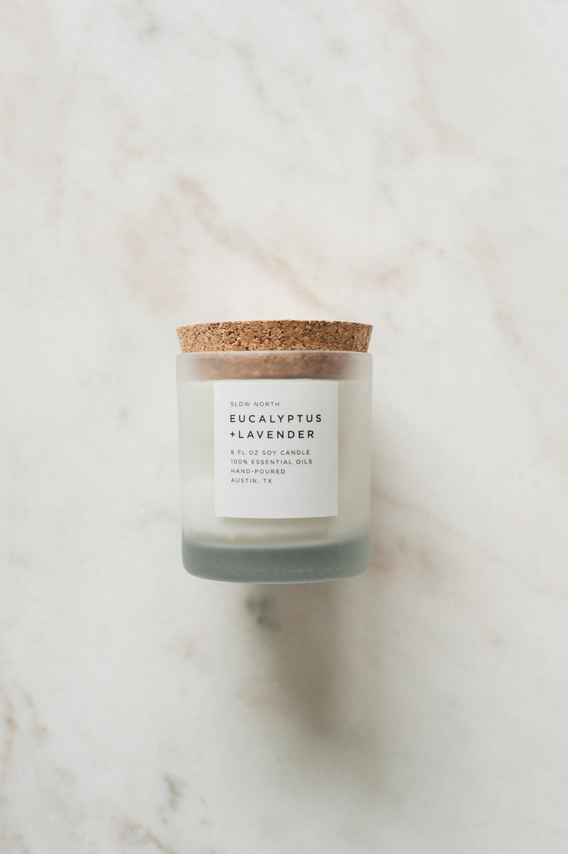 Eucalyptus + Lavender Candle by Slow North