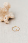 Crown Ring No. 1 by Molly Debiak