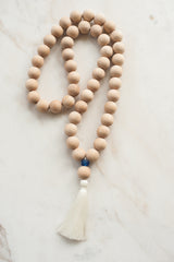 Dutch + Bow Giant Wood Bead Mala