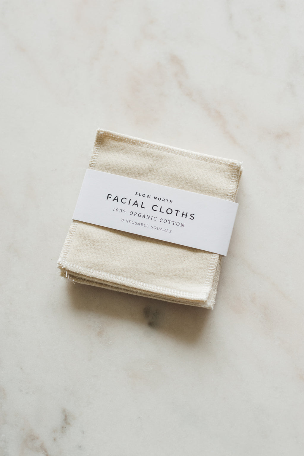 Reusable Facial Cloths by Slow North