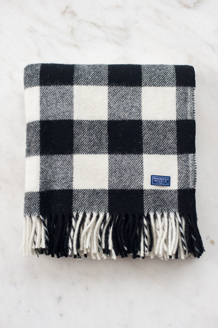 Buffalo Check Throw Blanket