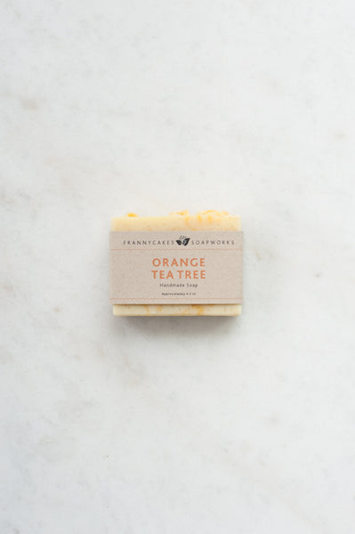 Orange Tea Tree Handmade Coconut Milk Soap