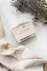 Lavender Handmade Coconut Milk Soap
