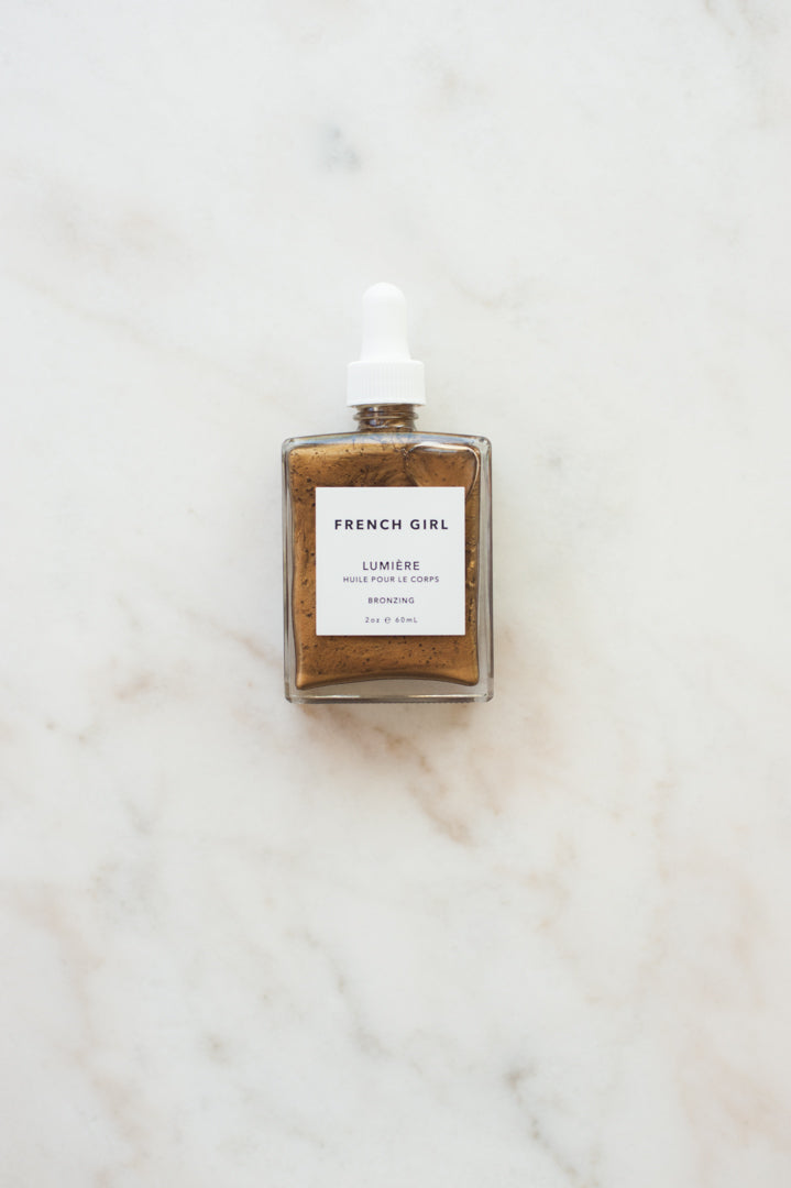 French Girl Lumière Body Oil Bronzing
