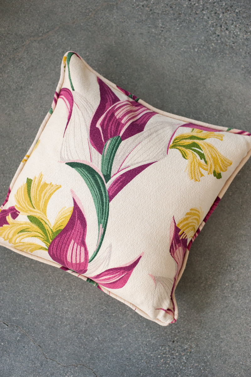 Magenta Palms Pillow Cover I - Hudson Louie