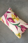 Magenta Palms Lumbar Pillow Cover - Hudson Louie