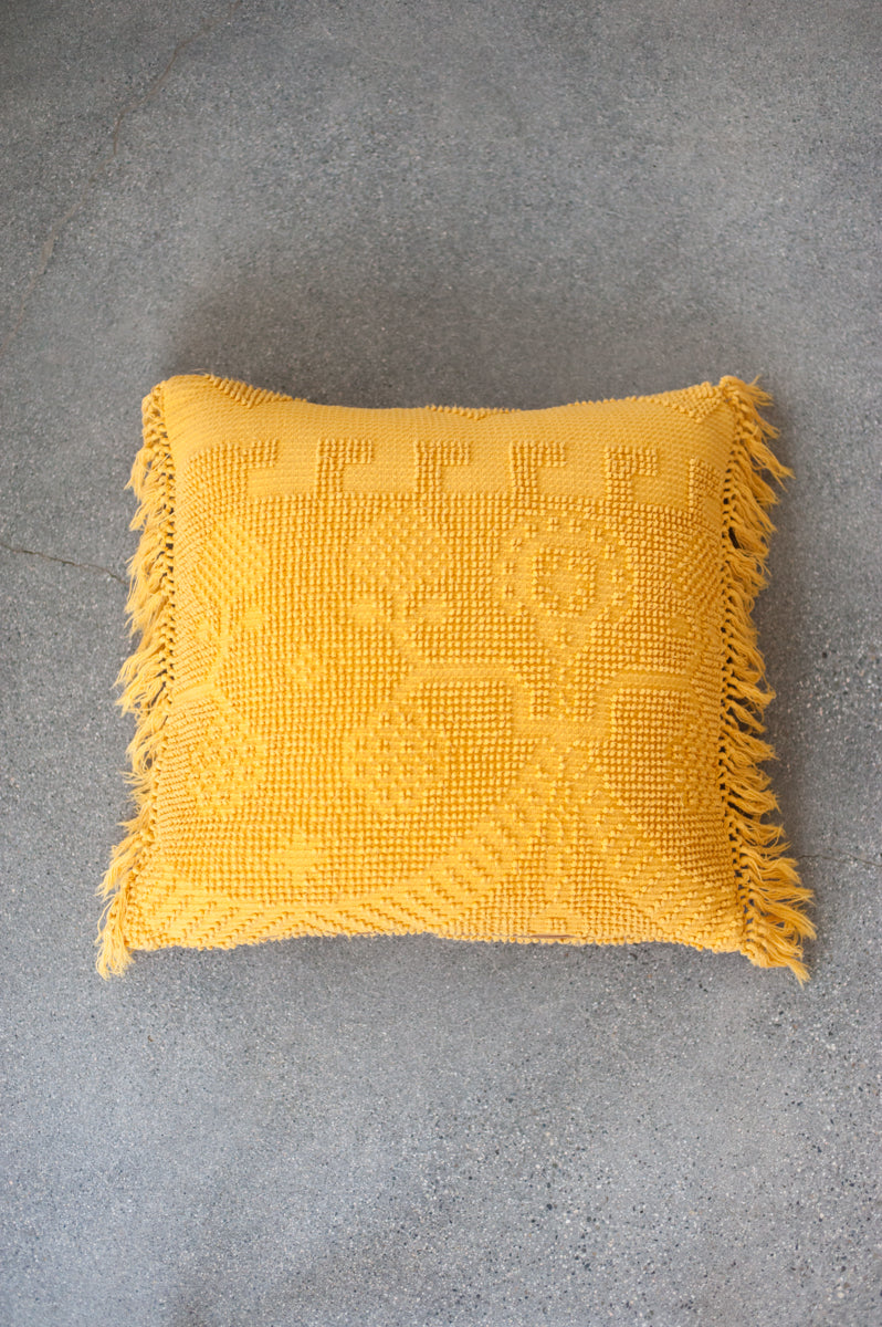 Bondi Beach Pillow Cover - Marigold 1
