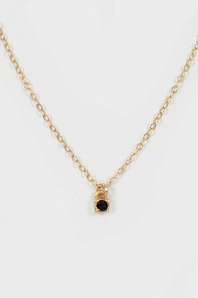 Merewif Onyx Loner Necklace