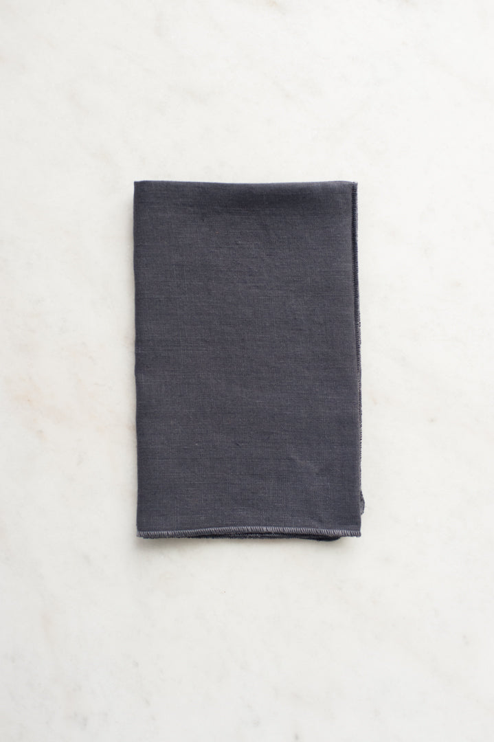 Linen Tea Towel - Storm