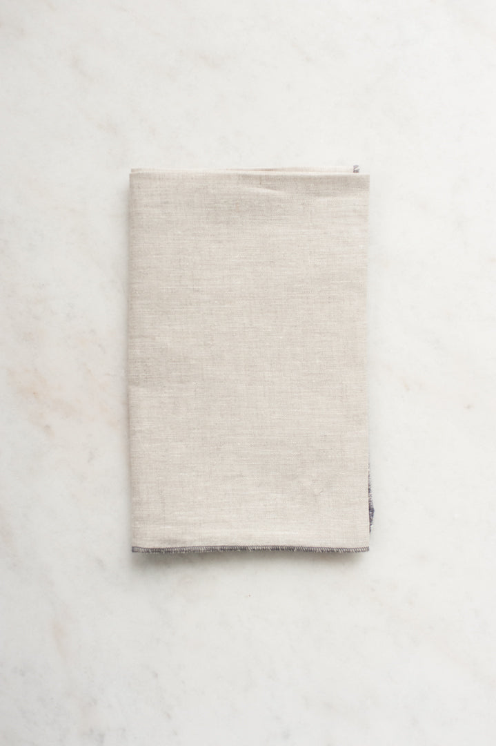 Linen Tea Towel - Natural Sand