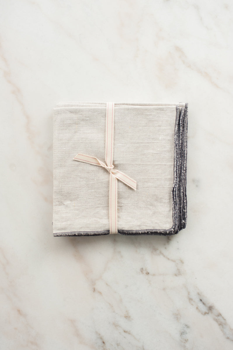 Linen Napkin in Natural Sand (Set of 4)