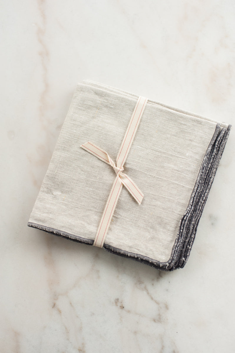 Linen Napkin in Natural (Set of 4)