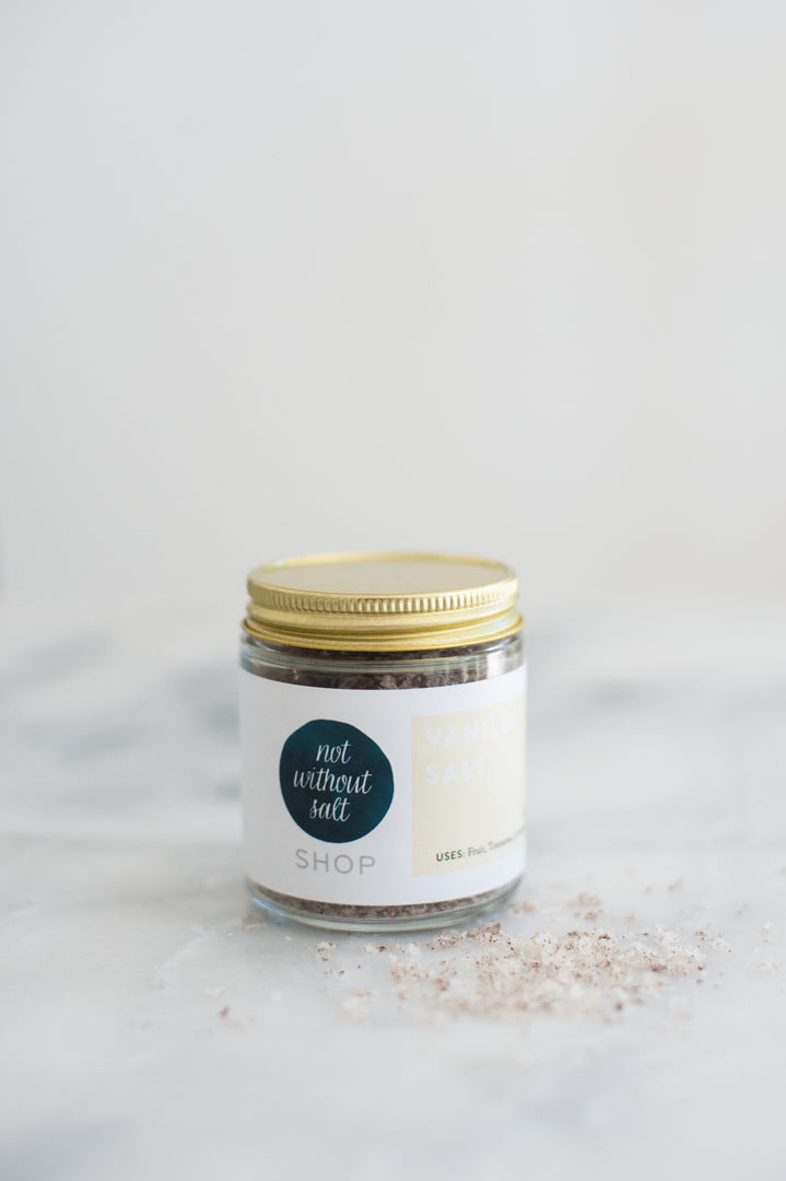 Vanilla Salt - 4 oz