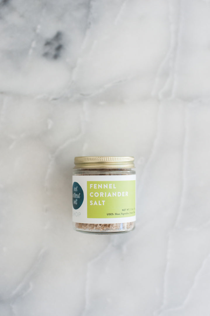 Fennel Coriander Salt - 4 oz