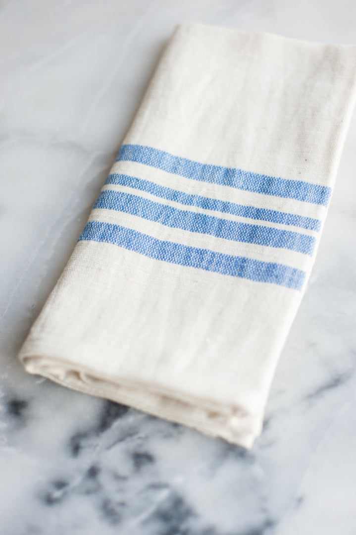 Euro Cotton Napkins - Blue
