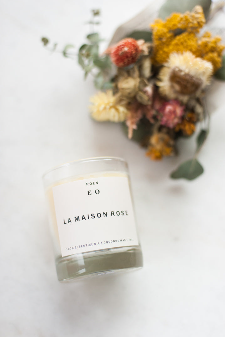 La Maison Rose Candle by Roen