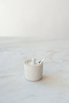 Farmhouse Spice Jar - Classic White