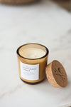 Sandalwood + Amber Candle by Slow North