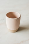 Blush Ceramic Tumbler by M. Bueno
