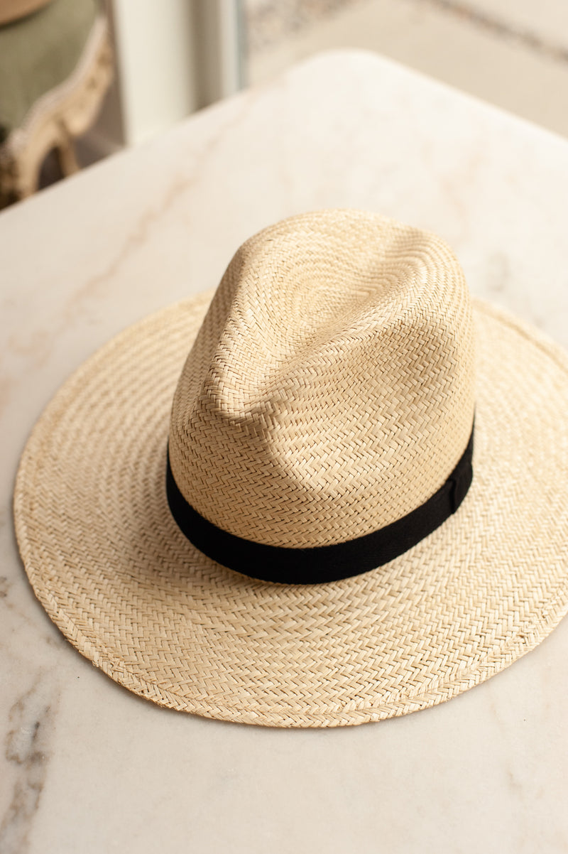 Stevie Palm Straw Hat