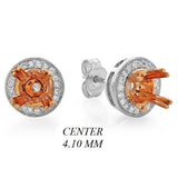 PMI 14WP@2.20 30RD3@0.16 (0.25CT) 4.10MM ROUND TWO TONE
