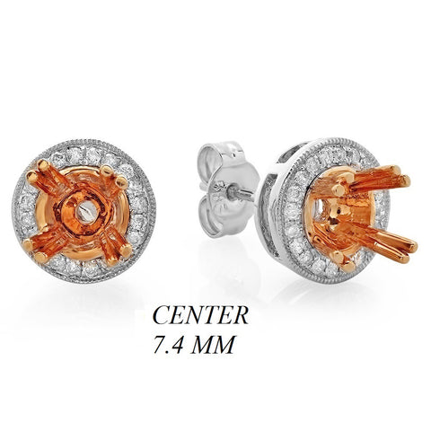 PMI 14WP@4.64 48RD3@0.26 (1.5CT) 7.4MM ROUND TWO TONE