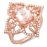PMI 14P@6.10 86RD3@0.45 1MORG@2.91 MORGANITE RING
