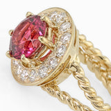 PMI 14Y@4.91 15RD2@0.56 1P.TOUR@1.87 PINK TOURMALINE RING