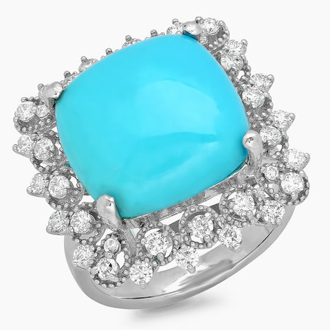 PMI 14W@5.80 36RD@0.74 1TQ@7.31 TURQUOISE RING