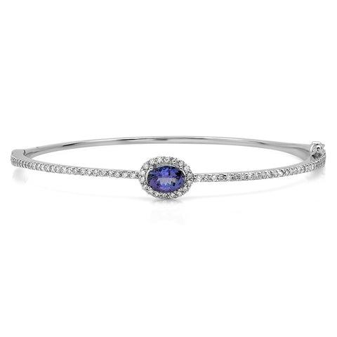 PMI 14W@9.9 72RD1@0.79 1TZ@0.95 TANZANITE BANGLE