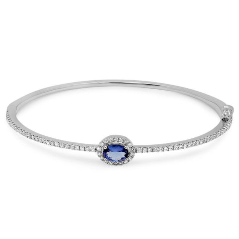 PMI 14W@10.0 72RD1@0.67 1TZ@0.59 TANZANITE BANGLE