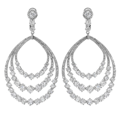PMI 14W@24.60 340RD1@16.80 CHANDELIER EARRINGS