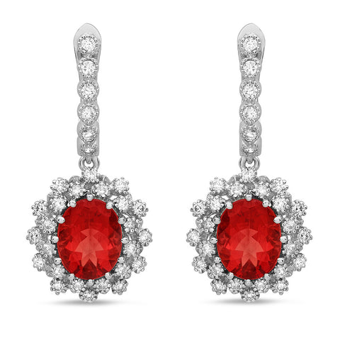 PMI 14W@8.1 62RD1@1.28 2R.LAB@4.29 RED LAB EARRINGS