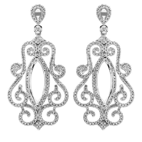 PMI 14W@15.54 416@2.18 CHANDELIER EARRING