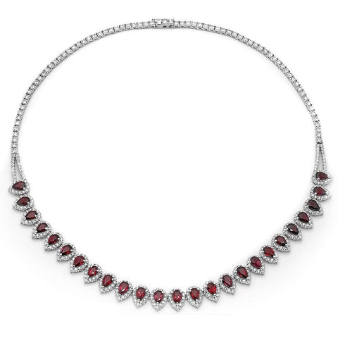 PMI 14W@22.70 436RD1@8.99 25RBY@11.87 RUBY NECKLACE