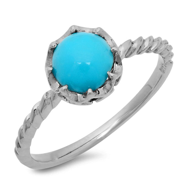 PMI 14W@1.90 1TRQ@1.33 TURQUOISE RING
