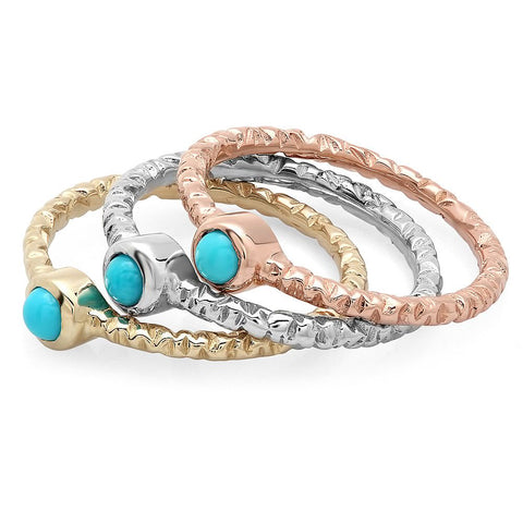 PMI 14W@1.9 1TRQ@0.16 TURQUOISE RING