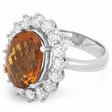 PMI 14W@8.1 16RD2@1.76 1W.QTZ@5.81 WHISKEY QUARTZ RING