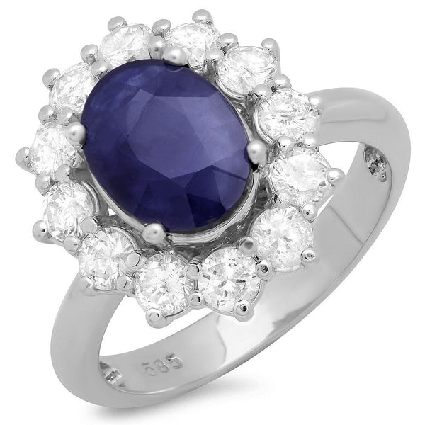 PMI 14W@5.5 12RD2@1.26 1BSPH@3.62 SAPPHIRE RING