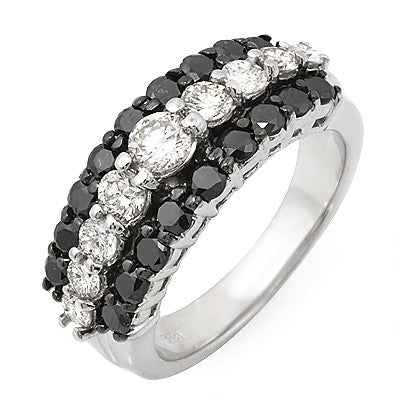 PMI 14W@5.8 9RD@0.73 18BRD@0.99 BLACK AND WHITE RING